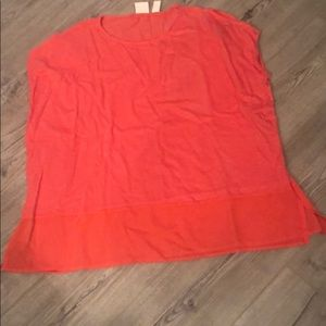 Salmon Chico's Shirt Size 0